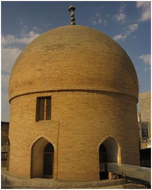 بنای تاریخی گنبد خشتی در مشهد