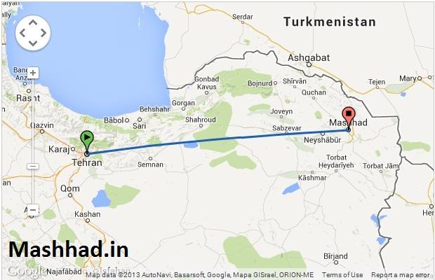 اگر از تهران قصد سفر به مشهد دارید این مطلب را بخوانید