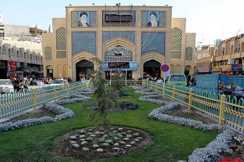 تصاویر بازار رضا مشهد – فلکه آب