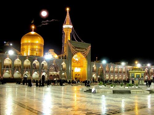 خلوت ترین ساعت ها برای زیارت حرم مطهر امام رضا (ع)