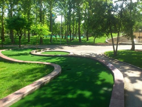 طراحی فضای سبز و درختان پارک ملت مشهد