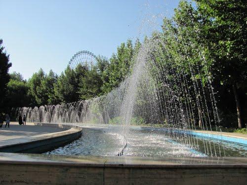 آبنما در پارک ملت مشهد